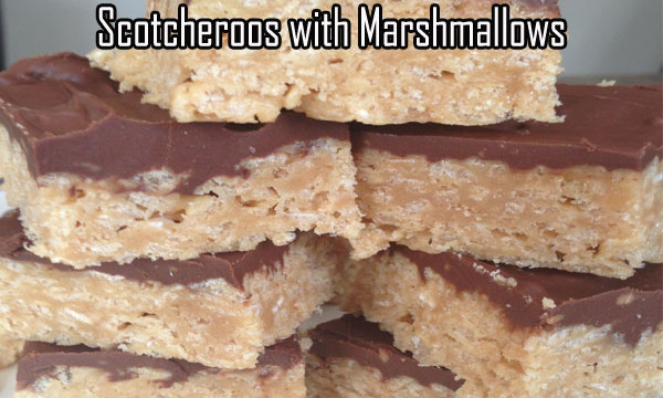 Scotcheroos With Marshmallows