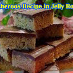Scotcheroos Recipe in Jelly Roll Pan